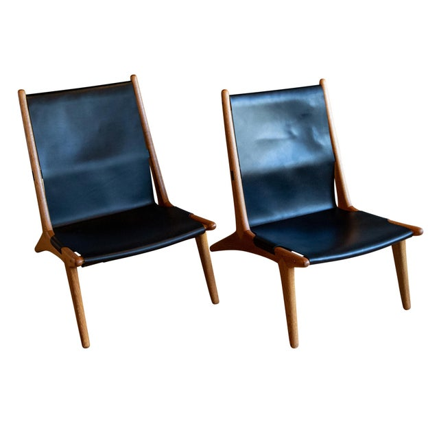 """1950s Uno & Östen Kristiansson """"Hunting"""" Chairs - a Pair For Sale - Image 5 of 8"""