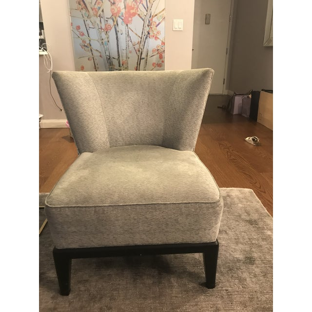 Tremendous Mitchell Gold Bob Williams Gray Upholstered Accent Chair Home Remodeling Inspirations Propsscottssportslandcom