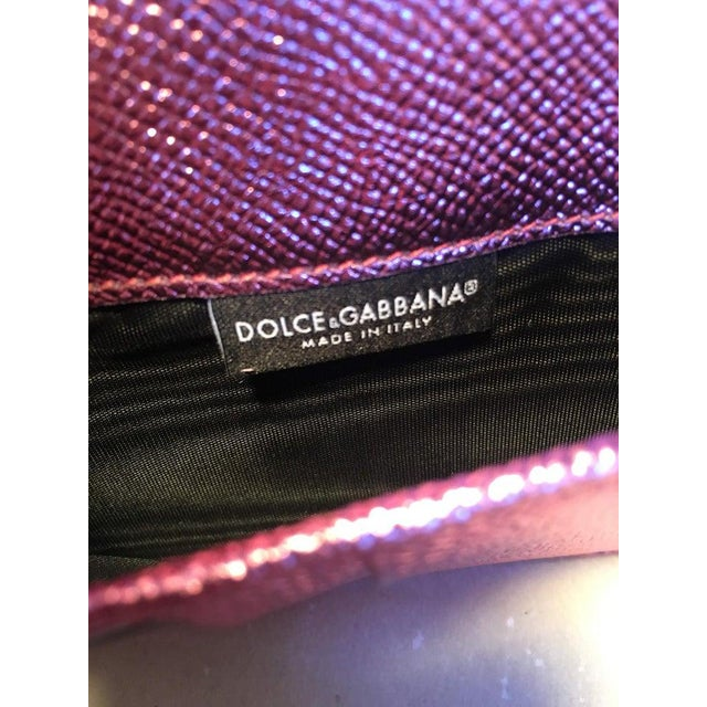 Nwot Dolce and Gabbana Pink Sicily Von Wallet Cell Phone Clutch Purse For Sale In Philadelphia - Image 6 of 10