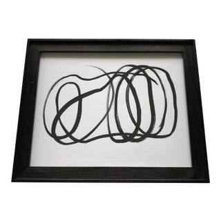 Contemporary Abstract Framed Print For Sale