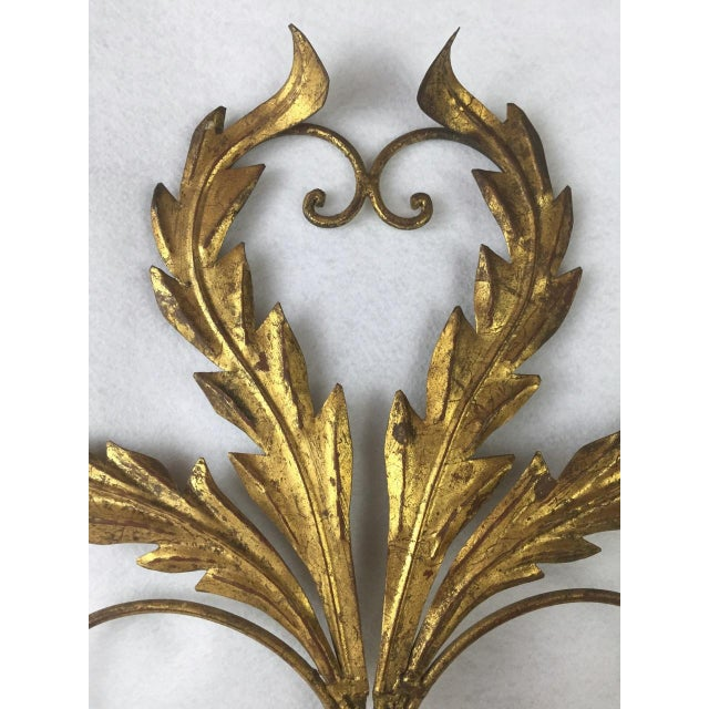 Hollywood Regency Candle Sconce For Sale - Image 6 of 11