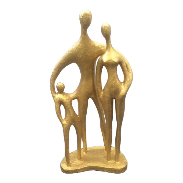 """""""Family"""", Mid-Century Sculpture by Austin Prod - Image 1 of 10"""