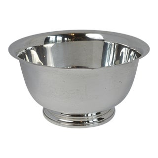 20th Century Sterling Silver Revere Bowl by Web For Sale