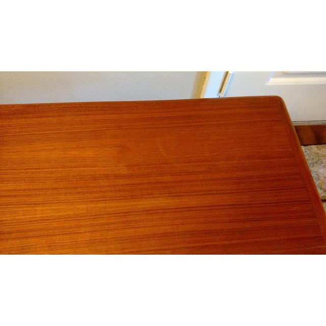 Danish 1960s Solid Teak Coffee Table by Trioh - Image 6 of 7