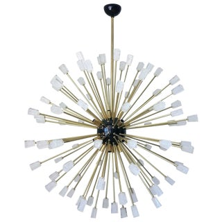 Italian Fabio Ltd Ice Cubes Sputnik Chandelier For Sale