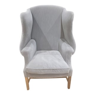 Early 21st Century Restoration Hardware Wing Chair