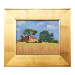 Vintage California Landscape Oil Painting