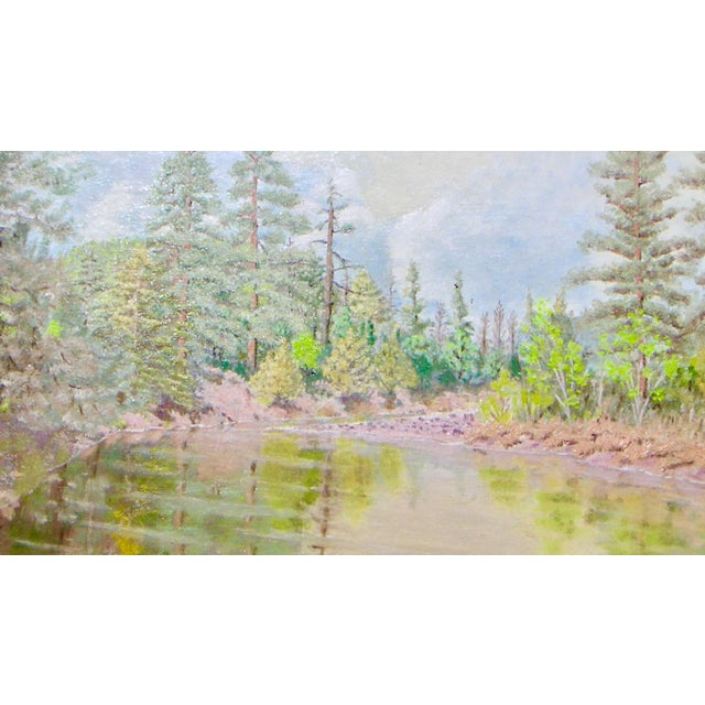 Feather River California Painting For Sale - Image 4 of 5