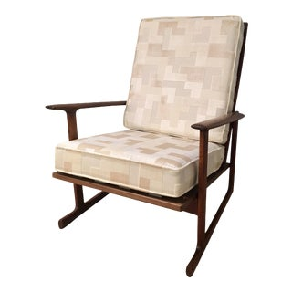 Kofod Larsen High Back Lounge Chair For Sale