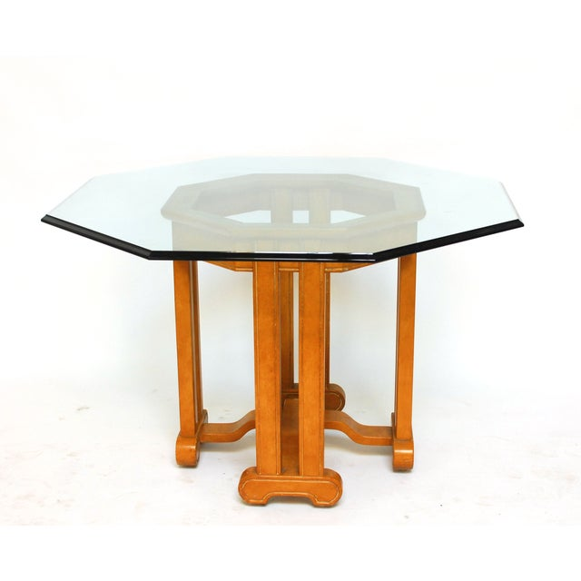 Asian Octagonal Dining Table - Image 2 of 6