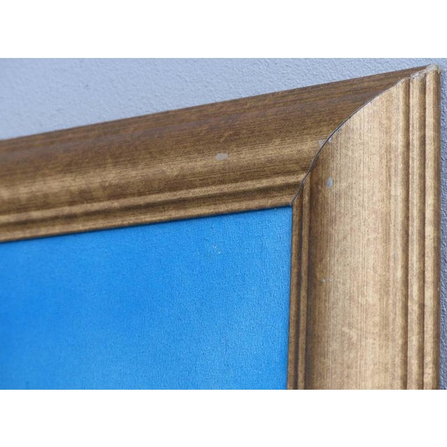 """Blue """"New Bounty"""" Contemporary Nautical Painting by Argentine Artist Gabriel Duarte For Sale - Image 8 of 11"""
