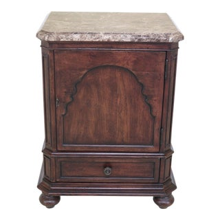 Thomasville Marble Top Ernest Hemingway Cabinet For Sale