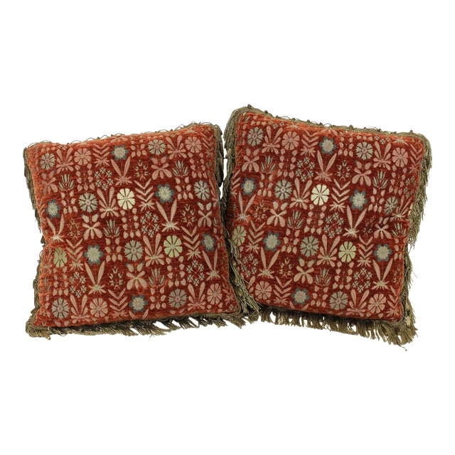 Tapestry Drawing Room Pillows For Sale