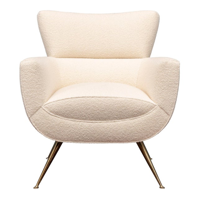 Mid-Century Modern Lounge Chair by Henry Glass For Sale