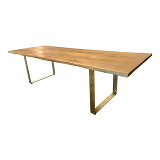 Anthropology Smoked Oak Table