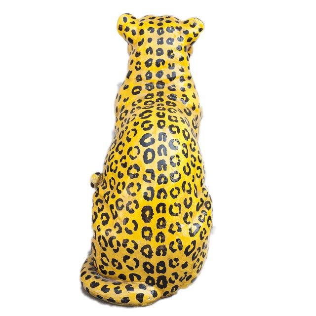 Mid-Century Ceramic Leopard - Image 6 of 10