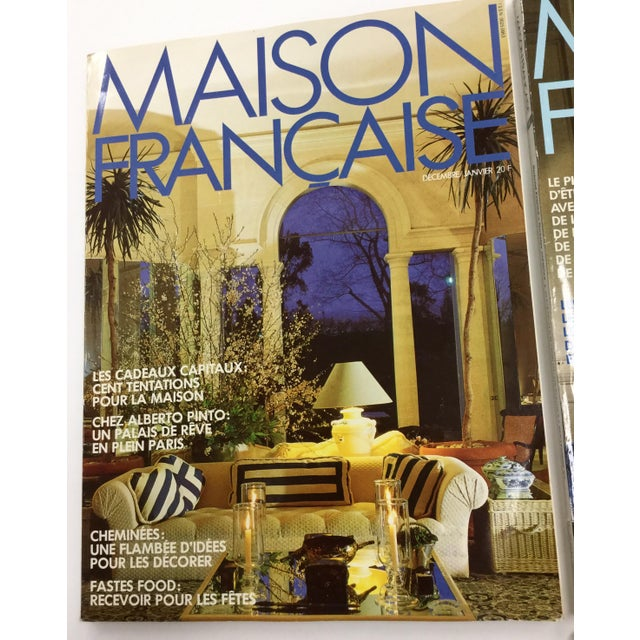 French French Interior Decorating Magazines - Set of 5 For Sale - Image 3 of 13