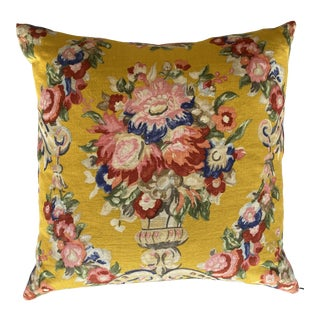 Clarence House Floral Pillow For Sale