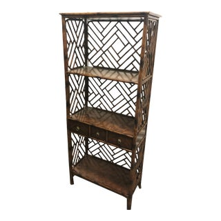 Theodore Alexander Cockpen Etagere For Sale