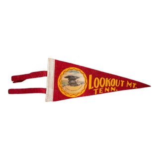 Lookout Mt. Tenn Felt Flag