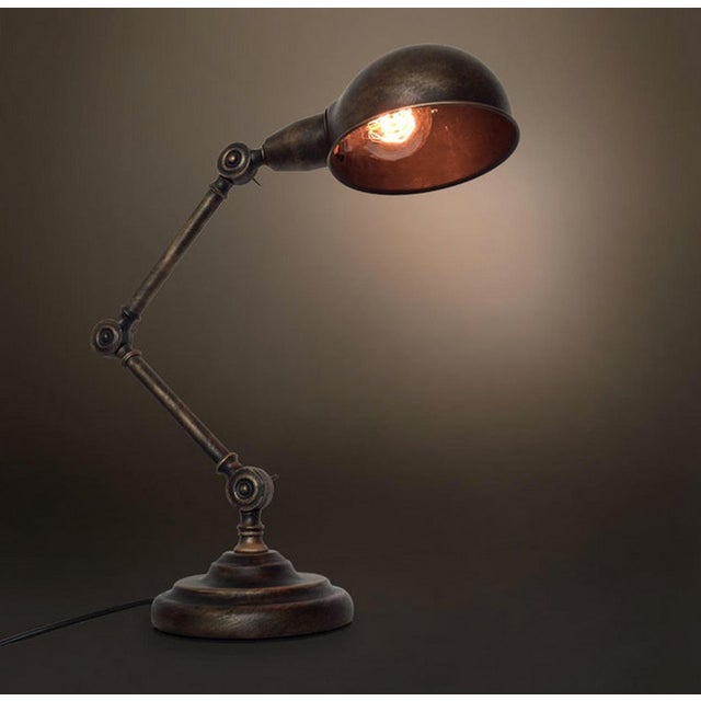 Vintage Industrial Light the Medieval Table Lamp - Image 3 of 4