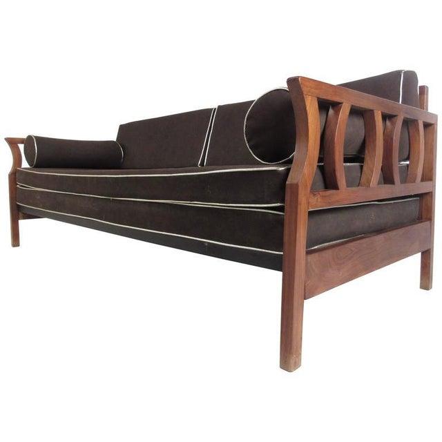 Vintage Modern Sculptural Sofa or Day Bed - Image 2 of 11
