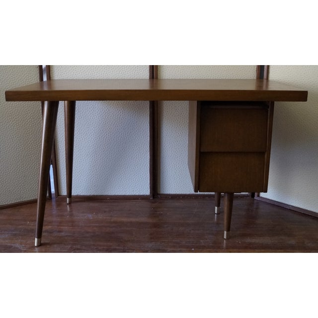 Barzilay Mid-Century California Modern Desk - Image 3 of 11
