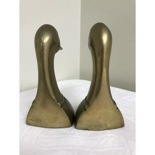 1960s Vintage Brass Dick Head Bookends- A Pair Preview