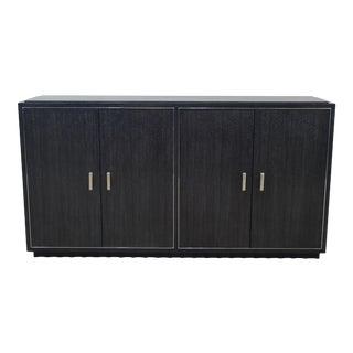 Ralph Lauren Modern Ebonized Buffet Sideboard For Sale