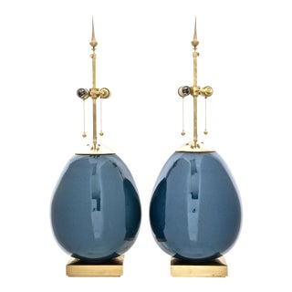 Pair Thomas O'Brien for Visual Comfort Ciro Table Lamps For Sale