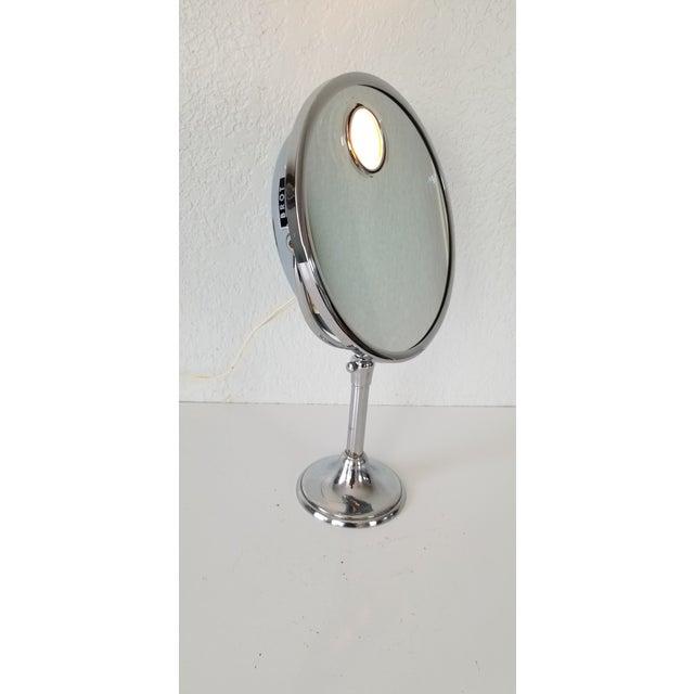 1960 Brot Mirophar Illuminated Vanity Mirror Paris - France . For Sale - Image 13 of 13