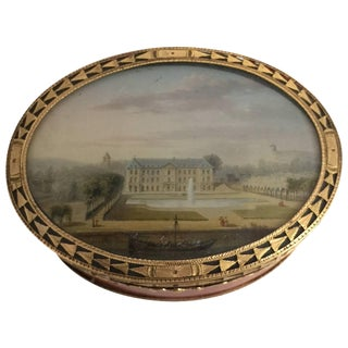 18th Century Louis XV Gold-Mounted Lacquer Snuff Box For Sale