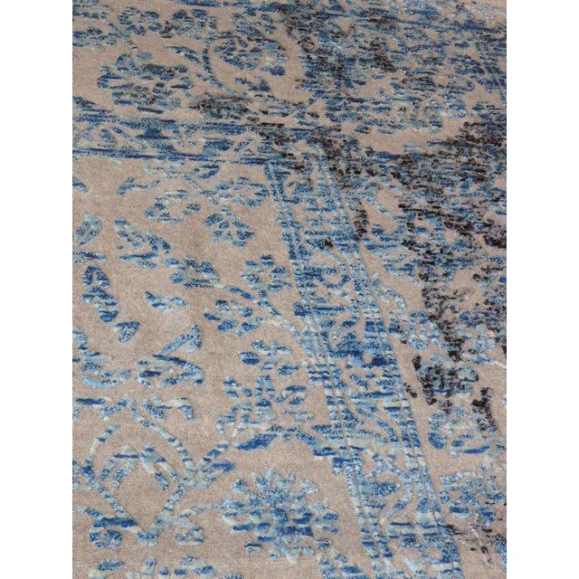 Hand Knotted Indian Rug - 8′ × 10′ - Image 10 of 11