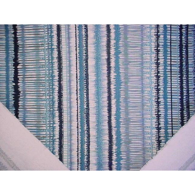 Lee Jofa Lee Jofa Gp & J Baker Toledo Embroidered Ikat Upholstery Fabric- 2 7/8 Yards For Sale - Image 4 of 5