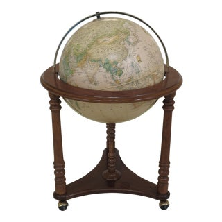 Heritage Collection Lighted World Globe on Stand