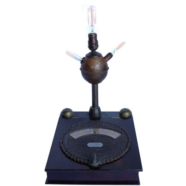 Vintage Weston Ammeter Stash-Box Lamp - Image 1 of 6