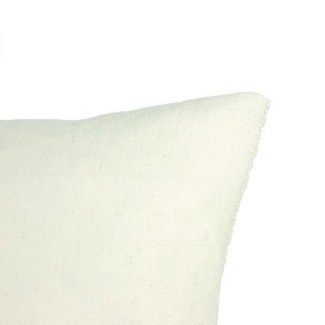 San Cristobal Brocade Pillow - Navy - Image 5 of 5