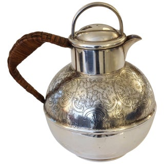 English Antique Small Silver Pitcher or Teapot by Bailey Banks & Biddle For Sale