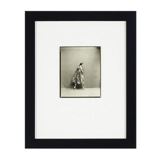 1957 Vintage Richard Avedon Vogue Shoot Silver Gelatin Print For Sale