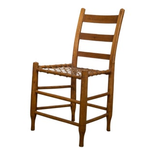 19th C. Rawhide Chairs From Historic Oregon Commune C.1856 For Sale