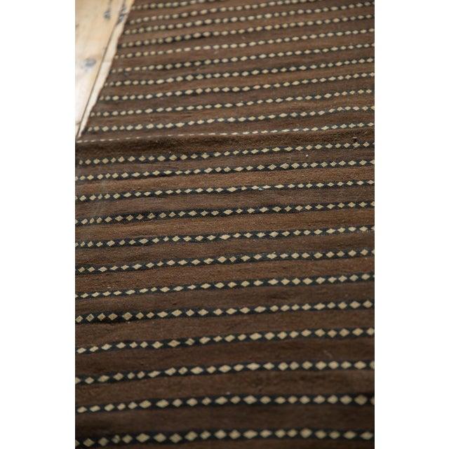 "Textile Vintage Moroccan Kilim Rug Runner - 5' X 11'7"" For Sale - Image 7 of 13"