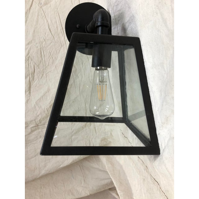 Traditional Amherst River Valley Rust Outdoor Wall Light by Troy Lighting For Sale - Image 3 of 6