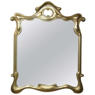 Tony Duquette Style Gilt Surrealist Mirror