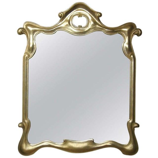 Tony Duquette Style Gilt Surrealist Mirror - Image 1 of 5