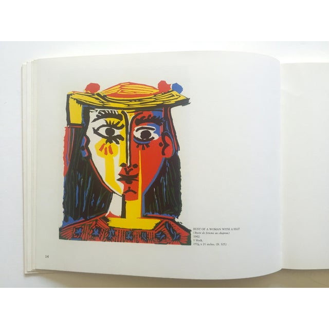 "Paper "" Picasso Linocuts 1958 - 1963 "" Rare Vintage 1968 1st Edition Lithograph Print Collector's Exhibition Art Book For Sale - Image 7 of 13"