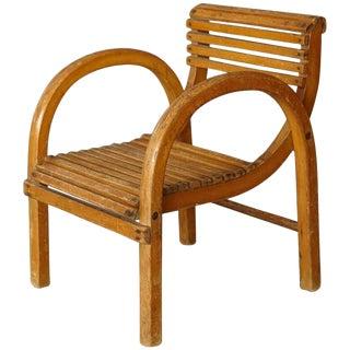 Mid-Century Modern Dutch Children's Lounge Chair by Kibofa