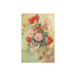 Red & White Roses by Catherine Jackson For Sale