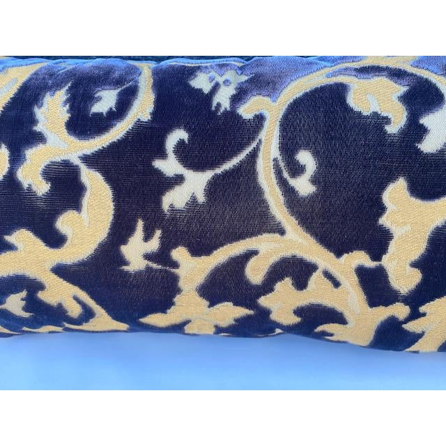 Silk Luigi Bevilacqua Silk Velvet Pillows - a Pair For Sale - Image 7 of 8