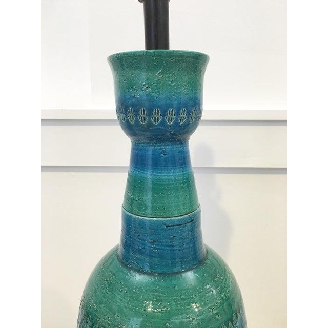 Bitossi Ceramiche Art Pottery Lamp - Image 5 of 9