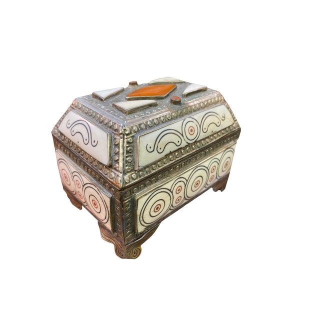 1960s Moroccan Inlaid Box For Sale In Dallas - Image 6 of 6